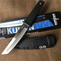 faca de ponto venda por atacado-Atacado Cold Steel KOBUN Tanto Ponto Lâmina Faca Ao Ar Livre Camping Caminhadas Survival Faca Reta Com ABS K Bainha