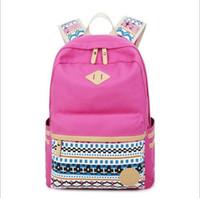 Wholesale Bolsas Backpack - 2017 Women Canvas Backpacks Ladies Shoulder School Bag Rucksack For Girls Travel Fashion Casual Bags Bolsas Mochilas Sac A Dos