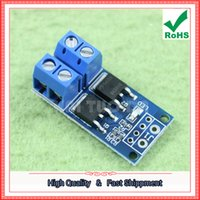 Wholesale Free Electronic Module - Free Shipping 2pcs MOS FET FET Trigger Switch Driver Board PWM Adjustable Electronic Switch Control Board Module (C4B4)