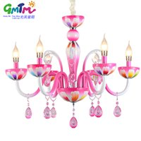Wholesale Led Candle Lights For Sale - Contemporary Chandelier 2017 HOT SALE living room ceiling lights chandeliers, Pink candle Chandeliers for the bedroom girls