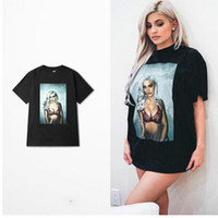Wholesale T Shirt Bboy - Size xl Europe And The West Coast Hip-hop Skateboard Bboy T Shirt Men Funny Dead Fly Rock Beautiful Women Print Tshirt Fitness