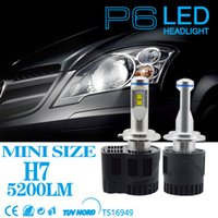 faro 55w al por mayor-55W 5200LM Car LED faro Para bmw vw honda toyota jeep wrangle faro H7 H11 HB3 HB4 llevó bombillas de reemplazo