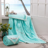 Summer Quilt Modal Fabric Filling Blankets Healthy Cool Thin Comforters Full Queen King Size Office car beach outdoors UTILIZZO