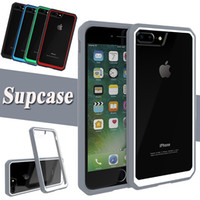 Wholesale Unicorn Beetle - Supcase Unicorn Beetle Hybrid Colorful Bumper Case Clear TPU + PC Cover For iPhone 8 7 Plus 6 6S Samsung S6 Edge Note 5 With Retail Package