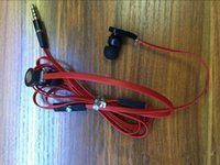 3,5-мм кабельный микрофон оптовых-Hot Tour Наушники с микрофоном 3,5 мм Наушники-вкладыши Стереогарнитура Наушники Плоский кабель Новая мода для iPhone iPad iPod MP3