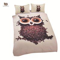 Wholesale Quilt Factory - Wholesale-High Quality 3D Bedding Sets Duvet Cover Soft Unique Design Queen Size Owl Quilt Factory Direct