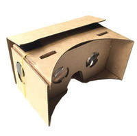 Wholesale Mirrors Mount - Google Cardboard VR Virtual Reality 3D Glasses Storm Mirror DIY Kit and Head Mount strap For iphone 7 6 6S plus 5 5s amsung s6 s7 edge s8