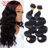Billets de cheveux vierges brésiliens 3Pcs Lot Body Wave Cheveux humains Weave Bulk Malaysian Indian Peruvian Cheap Hair Weaves Extensions Sale