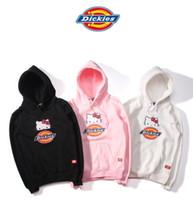 Wholesale Men Dickies - DiCKiES Hello Kitty men and women Hooded sweater