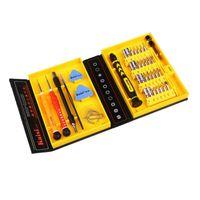 Wholesale Iphone Edge Settings - Wholesale- Kaisi 38 in 1 Precision Screwdrivers Kit Opening Repair Phone Tools Set for iPhone 4   4s   5 iPad Samsung
