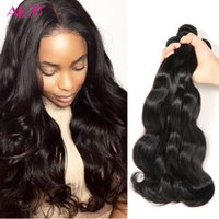 Wholesale Ombre Curly - Brazilian Human Hair Bundles Kinky Straight Body Deep Wave Curly Hair Weft Peruvian Indian Malaysian Unprocessed Human Hair Extensions