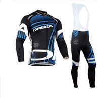 Wholesale Bike Orbea - 2017 Orbea Team Mens Winter Cycling Jersey Set  Thermal Fleece Bicycle Clothing Mens Bicycle Clothing MTB Bike Clothes, 4 Colors.