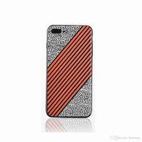 Wholesale X9 Slim - 2017 Simple Contrast color stripe case for VIVO X7 X9 Plus TPU Back Cover Ultra Soft Slim Design Cases