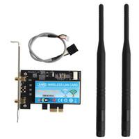 Wholesale Intel Wireless Pci - Wholesale- Wireless-AC Dual Band Intel 7265 867Mbps WiFi+BT 4.0 PC Desktop PCI-E WLAN Card