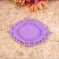2pcs / set fai da te Scrapbook metallo Die Cut mestiere del metallo muore Stencil per DIY Photo Album decorativo carta di carta 9 * 6 5 * 3.8