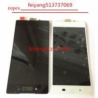 substituição da tela xperia venda por atacado-10 pcs Original Preto Branco Display LCD Touch Screen Digitador Assembléia 5.2