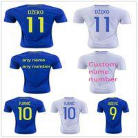 Wholesale Bosnia Herzegovina - Bosnia and Herzegovina Soccer Jersey 10 PJANIC 11 DZEKO 9 IBISEVIC 21 HADZIC 24 ZEC 23 SALIHOVIC BOSNIA MIRALEM EDIN Football Shirt Kit