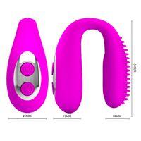 Wholesale Mouth Vibrator - Pretty Love USB Recharge 3 Vibration Mouth Gag, G Spot Vibrator Clitoris Stimulator Oral Sex Toys For Women Couples Sex Products