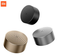 Original Xiaomi Speaker Bluetooth 4.0 Wireless Mini alto-falante portátil Stereo Handsfree Music Square Box Mi Speaker