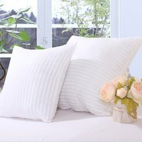 Wholesale Woven cotton cushion hold pillow Cotton sanded home sofa pillow The hotel bed square pillow