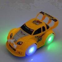Wholesale toy car steering resale online - New toy Light Music Universal Car Intelligent steering Light Emitting Electric cars Music Electronic Intelligent toys Q0141