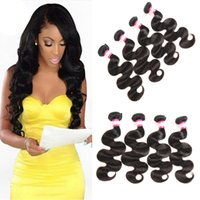 Wholesale very curly hair - Malaysian Virgin Hair Body Wave Straight Kinky Curly Deep Wave Water Wave 3 4 Bundles 8-28 Cheapest lowest Price Very Soft