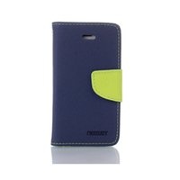 Wholesale Galaxy S4 Flip Wallet Card - Mercury Fancy Diary Wallet Flip PU Leather Case TPU Cover Stand For iPhonoe 7 7plus Samsung Galaxy S3 S4 S5 S6 Edge Note 3 4 5
