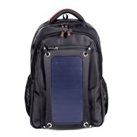 Wholesale Solar Panel Computer Charger - Original waterproof 5V Solar Battery Charging Business Travel Backpacks Bags Tourism Solar Panel USB Output Charger computer sports bag