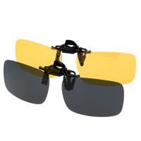 sonnenbrille polarisiertes polycarbonat groihandel-Heißer Verkauf Radfahren Brillen Objektiv Polarisierte Clip Auf Sonnenbrille Objektiv Fahrrad Sonnenbrille Objektiv Anti-Uv für Frauen Männer Outdoor-Sport