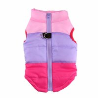 Wholesale Harness Jacket - Warm Winter Pet Dog Coat Jacket Clothes Vest Harness Puppy Apparel Dog Sweater Shirt Clothing for Dog Ropa para perros