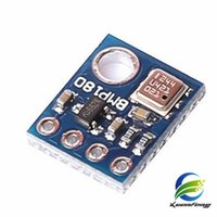 Wholesale Barometric Sensor - Wholesale hot-sale GY68 -BMP180 Digital Barometric Pressure Sensor Board Module Free Shipping 1 PCS