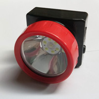 Wholesale headlamp miner resale online - Hot Sale Waterproof LD Wireless Lithium battery LED Miner Headlamp Mining Light Miner s Cap Lamp for camping