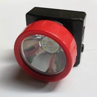 lámparas de minero al por mayor-Venta caliente Impermeable LD-4625 Batería de Litio Inalámbrica LED Minero Faros Mineros Ligeros Lámpara Miner Cap para acampar