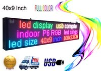 indoor-scrolling-zeichen großhandel-Indoor programmierbare LED-Zeichen 40