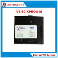 Wholesale Xprog Dhl - DHL free Hot Selling Xprog Box 5.60 Higher Version Than X PROG M 5.55 AUTO ECU Programmer Full adapter Xprog-m V5.60