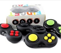 Wholesale FBA Custom Logo Drop Shipping Fidget Pad Game Handle Toys Plastic Reliever Stress New Hand Fidget Cube Pad