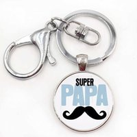 Wholesale I Love Daddy Boy - exquisite fashion I Love daddy this much keychain men jewelry je suis un papa qui dechire key chain ring holder dad