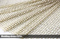 Wholesale Adhesive For Clothes - African Arabic glitter lace sequin mesh fabrics material new design high quality clothing multi color wedding dress for party