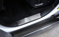 Wholesale door sill scuff guards - Stainless Steel Interior Door Sill Plate Decorative Trim For Range Rover Sport 2014-17 Door Sills Guard Scuff Plates