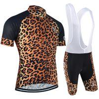 Wholesale Cool Road Bike Clothing - BXIO Brand Short Sleeve Road Bike Jerseys Cool Leopard Print Cycle Jerseys Best Cycling Brands Clothing Hot Sale BX-0209L-032