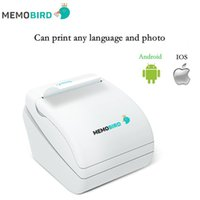 Wholesale New Memobird WiFi Thermal Printer barcode Printer Wireless Remote Phone Photo Printer any language and photo