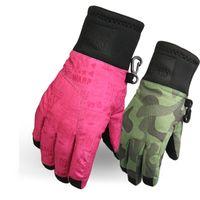 Wholesale Thermal Waterproof Mittens - Wholesale- CN-RUBR New Children Winter Thermal Gloves Waterproof Windproof Thickening Gloves For Boys Girl Kid Mitten