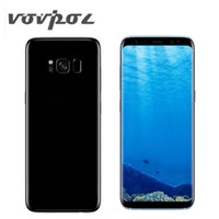 Wholesale Cell Phone Gb Ram - 2017 New Goophone S8 Phone 5.8 inches MTK6580 1GB Ram 16GB Rom Show 4GB Ram Octa core 12MP android Smart Cell Phone