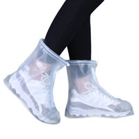Wholesale S5Q Women And Men High Quality Foldable Thick Nonslip Waterproof Rain Shoe Covers AAAGGG