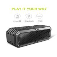 Wholesale New Drivers Speakers - NEW ZEALOT S6 Outdoor Waterproof Speaker Portable Wireless Bluetooth Speakers Dual Drivers Super Bass Hifi Bluetooth Speakers