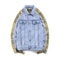 Wholesale Jean Jacket Beads - Spring Autumn Winter New 2017 Women lambswool jean Coat With 4 Pockets Long Sleeves Warm Jeans Coat Outwear Wide Denim Jacket