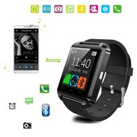 Wholesale U8 Bluetooth Smartwatch Bluetooth U8 Wrst watch with Altimeter for iphone Android NOTE7 S7 S6 edge plus in Gift Box