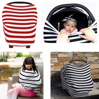 INS Baby Passeggino Pram Canopy Cover Multiuso Baby Car Seat Breathable Shadow Buggy Copertura Breastfeed Nursing Covers