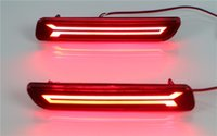 Wholesale Cross Bumpers - Led rear bumper brake lights for Suzuki CIAZ 2014~2017\Ertiga 2012~2017\Vitara 2015~2016\S-cross 2015~2016\Splash 2012~2015