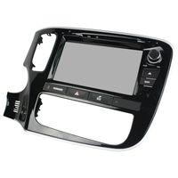 rádio automóvel mitsubishi outlander venda por atacado-Novo Android 5.1 OS Car DVD player para Mitsubishi Outlander com 8inch HD Screen, GPS, controle de volante, Bluetooth, Rádio